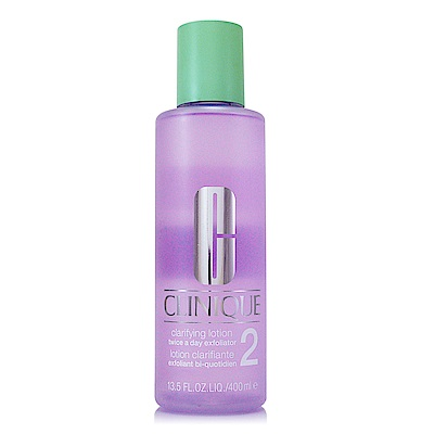 *CLINIQUE倩碧 三步驟溫和潔膚水2號400ml(正統公司貨)
