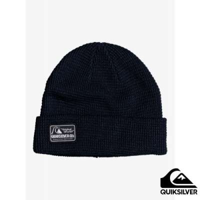 【QUIKSILVER】LOCAL BEANIE PATCH 毛帽 海軍藍