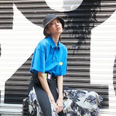 UDOU skateboard短袖T恤(藍)