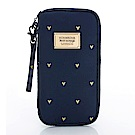 VOVAROVA空氣包-環遊世界護照夾-心空閃耀(藍)
