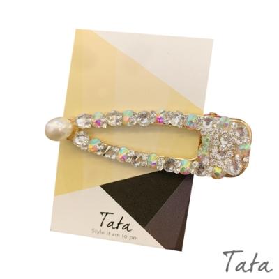 彩鑽鑲珠髮夾 TATA
