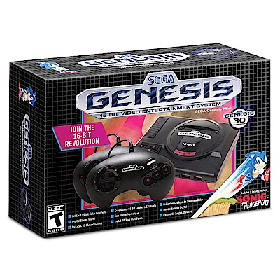 SEGA Genesis Mini 亞洲美版主機