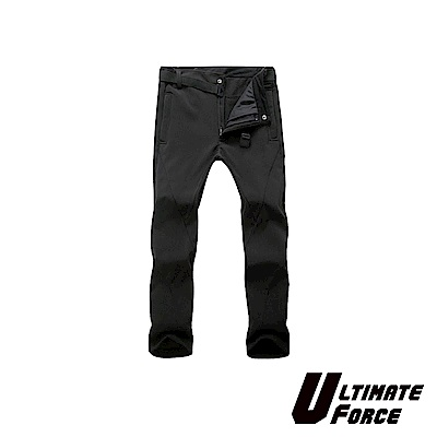 Ultimate Force「衝鋒」男款軟殼保暖工作褲(黑色)