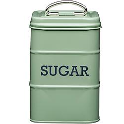《KitchenCraft》復古砂糖收納罐(綠1300ml)