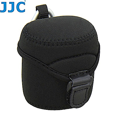 JJC中號鏡頭袋JN-M(潛水布材質,附金屬掛勾環,適鏡頭直徑62mm高68mm)