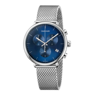 Calvin Klein CK 巔峰系列米蘭帶計時腕錶(K8M2712N)43mm