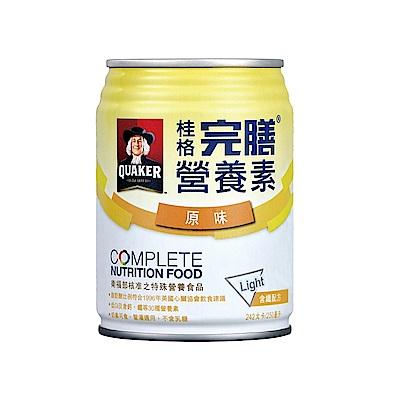 桂格完膳營養素含纖配方-原味少甜 (250ml*24入)