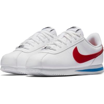 NIKE 阿甘鞋 休閒 運動鞋 大童 白紅 女鞋 904764103 CORTEZ BASIC SL GS
