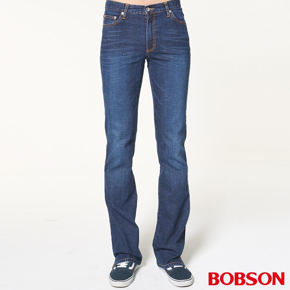 BOBSON 男款貓鬚喇叭褲