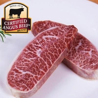 (滿額) 豪鮮牛肉 安格斯PRIME凝脂嫩肩牛排2片(100公克±10%/片)