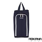 AOKANA奧卡納 MIT台灣製 旅行鞋袋 便攜收納包 收納袋(午夜藍)02-027