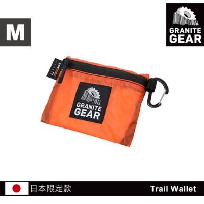 【日本限定款】Granite Gear 1000102 Trail Wallet 輕量零錢包(M) / 火焰橙