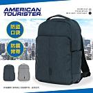 新秀麗 American Tourister 防盜電腦包 後背包 防潑水 TF8(碳黑色)