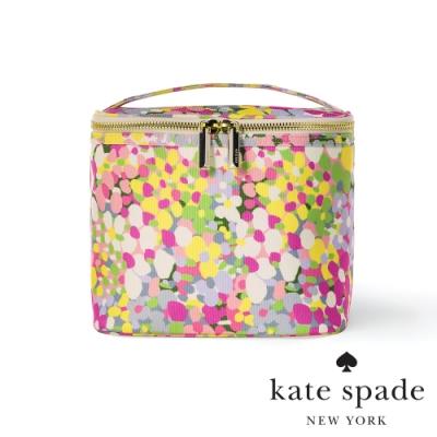 KATE SPADE 繁花點點小碎花手提托特化妝包 Floral Dots