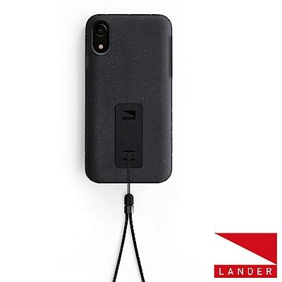 美國 Lander iPhone XR Moab 防摔手機保護殼 - 黑(附手繩)