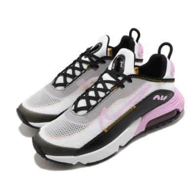 Nike 休閒鞋 Air Max 2090 運動 女鞋 氣墊 避震 透氣 舒適 球鞋 大童 白 粉 CJ4066104