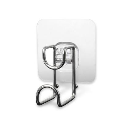 AF025 2入裝 免打孔 牆壁臉盆掛勾 浴盆掛勾無痕浴室臉盆架 簡易掛鈎 寶寶浴盆架