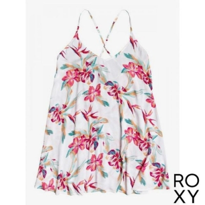 【ROXY】PT BE IN LOVE DRESS 洋裝 白色