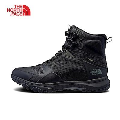 The North Face北面男款黑色防水保暖登山靴|3K3MKX7