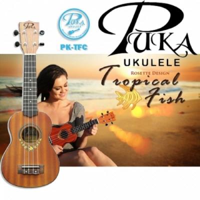 PUKA PK-TFC/烏克麗麗/23吋/Tropical Fish 熱帶魚系列