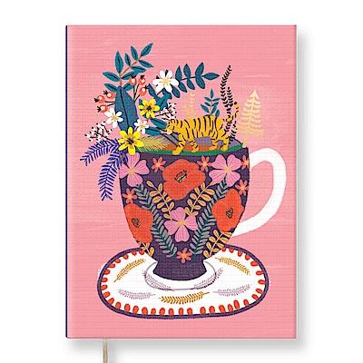 7321 Design Mia Charro 精裝本-空白筆記本-小叢林花瓶