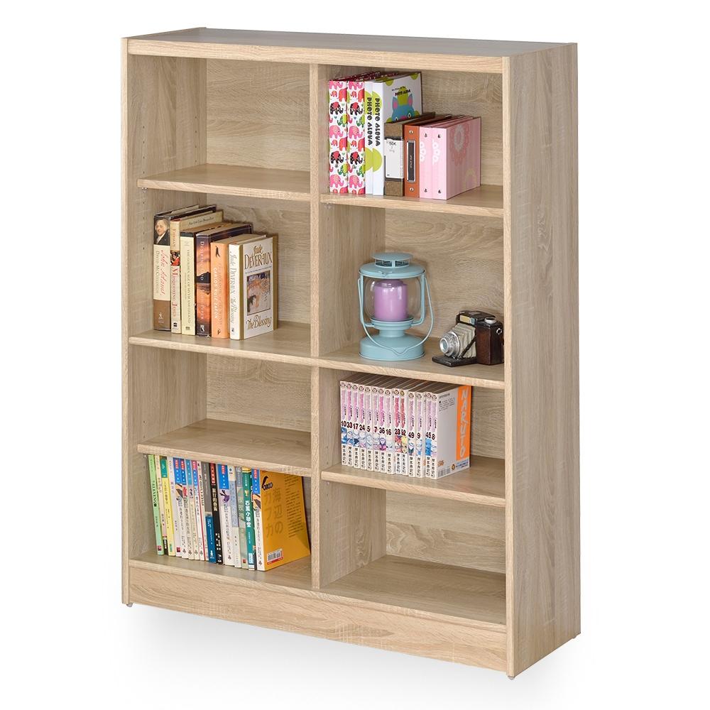 時尚屋 格納3x4尺開放式書櫃 寬90x深30x高120公分
