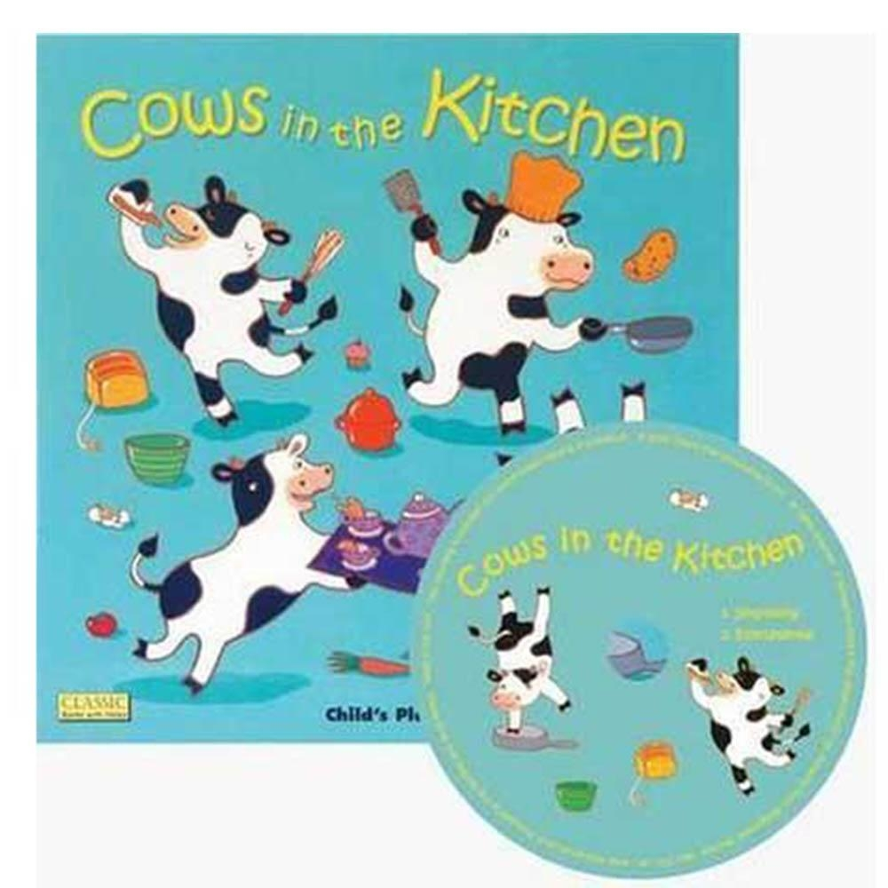 Cows In The Kitchen 動物來你家CD書