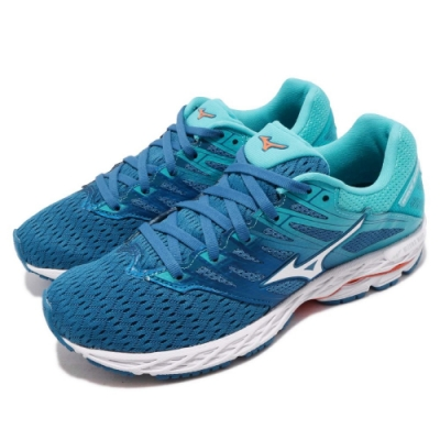Mizuno 慢跑鞋 Wave Shadow 2 寬楦 女鞋