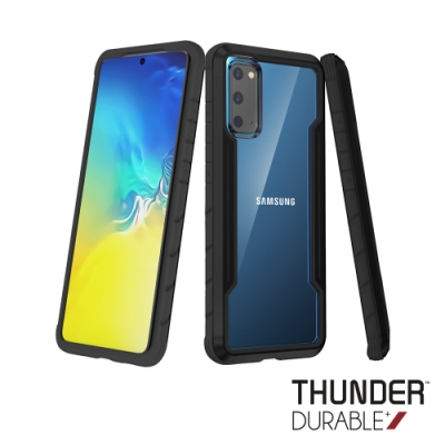THUNDER Samsung Galaxy S20+ 雷霆軍規級鋁合金防摔手機殼(5色)