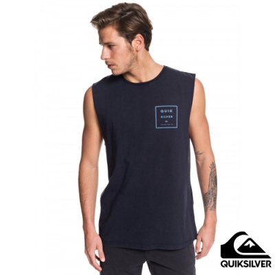 【QUIKSILVER】SQUARED UP MUSCLE 背心 海軍藍