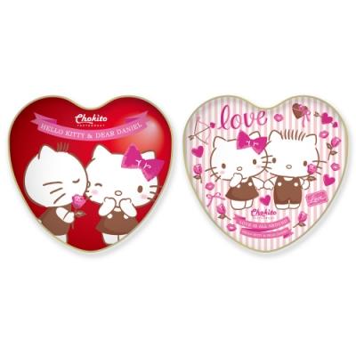 巧趣多Hello Kitty愛心草莓代可可脂巧克力-濃情40g(二款隨機出貨)