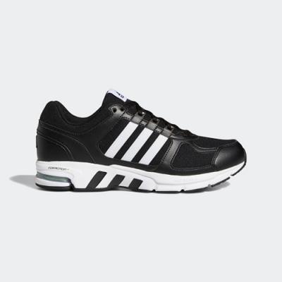 ADIDAS 慢跑鞋 訓練 健身 運動鞋 男女鞋 黑 FW9995 EQUIPMENT 10 U