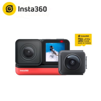 Insta360 ONE R 雙鏡頭套組 (公司貨)  贈32G/100MBs卡
