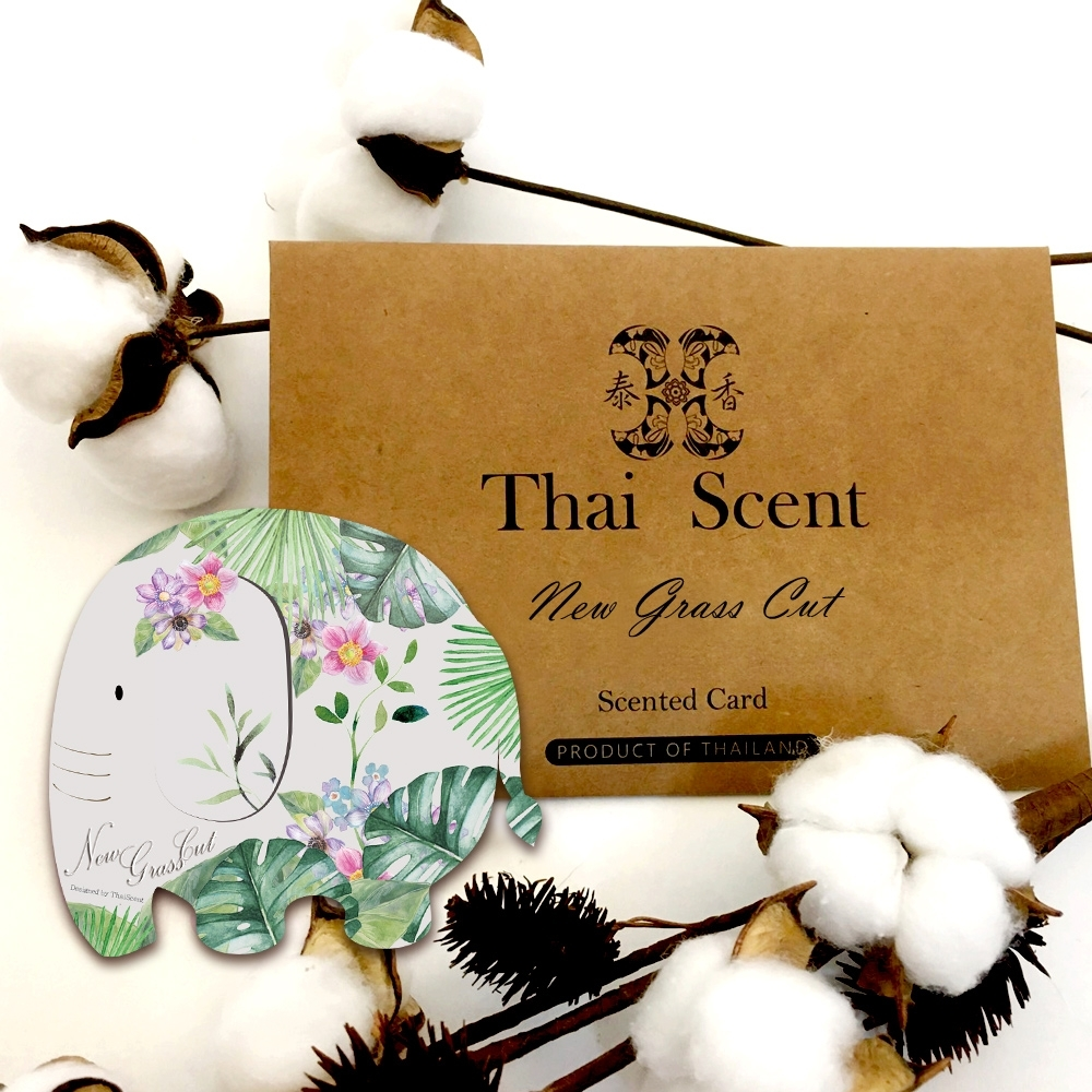 ThaiScent泰香 剛剪的草香氛掛片