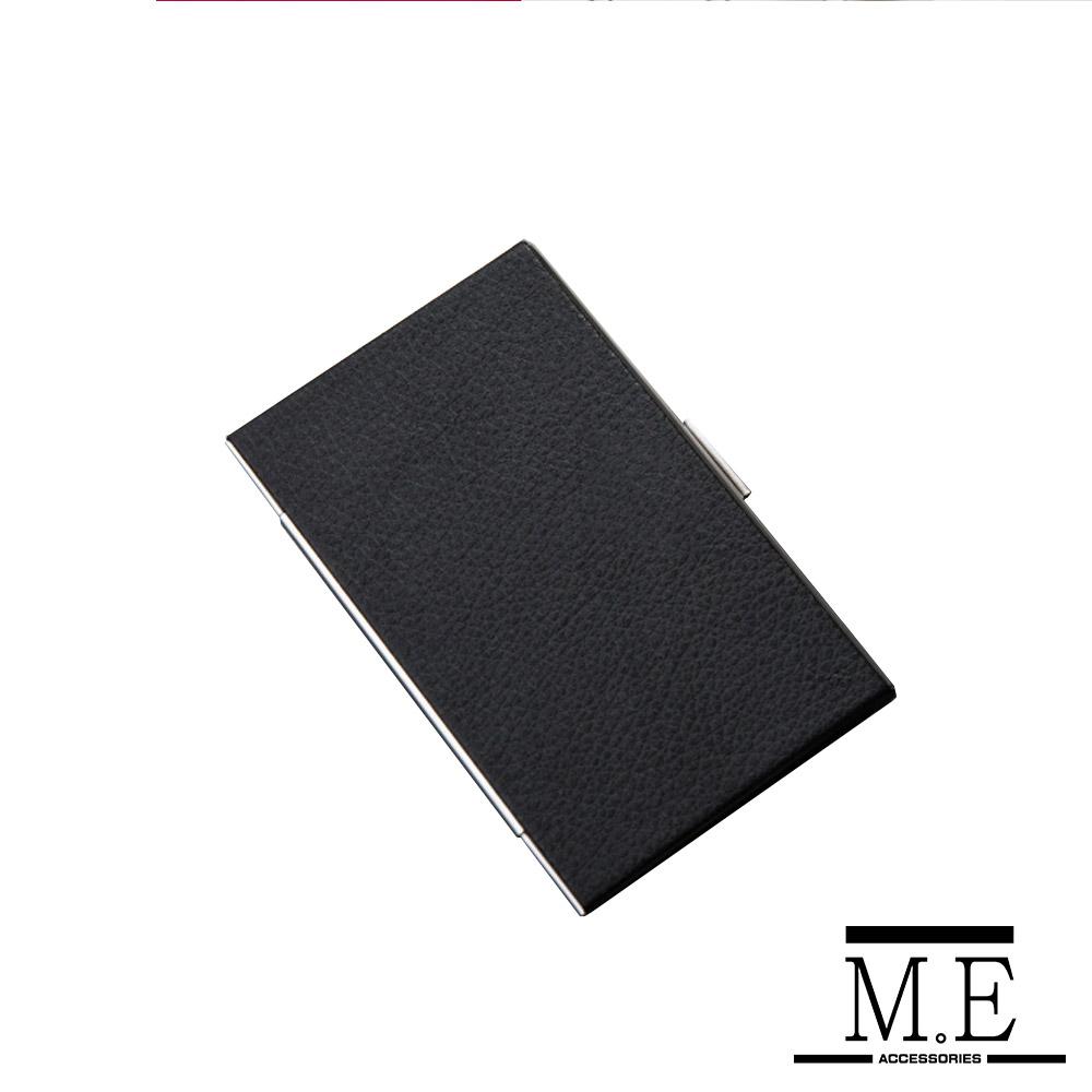 M.E 荔枝皮硬式專業名片盒 沉穩黑