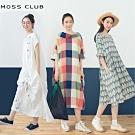 【MOSS CLUB】獨家!森林系長版-洋裝(多款選)