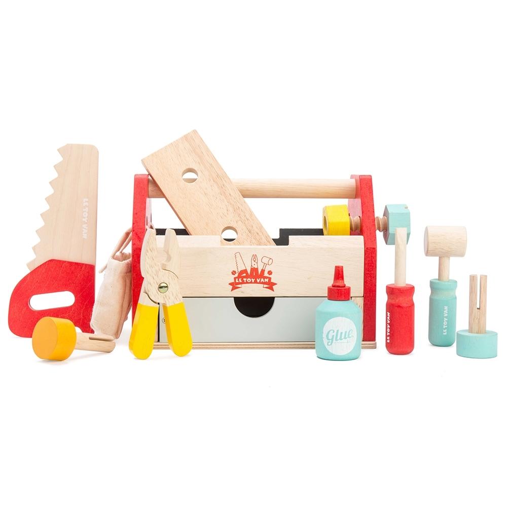 英國 Le Toy Van 小小工程師系列-小小工程師工具箱玩具組