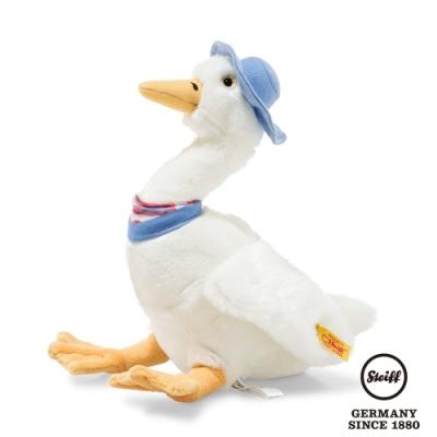 STEIFF德國金耳釦泰迪熊 Jemima Puddle Duck 母鴨潔瑪 (動物王國) 27cm