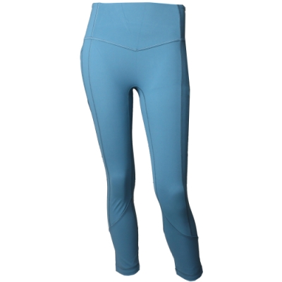 【lululemon】All The Right Places Crop高腰瑜珈運動褲/湖綠(LW6APXS DETE)
