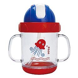 喜多 晶彩學飲杯180ml-章魚