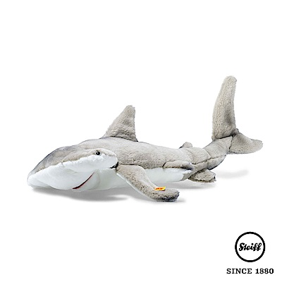STEIFF德國金耳釦泰迪熊 鯊魚 雙髻鯊 (動物王國)