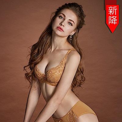 曼黛瑪璉 Hibra大波內衣  B-D罩杯(膚棕色)