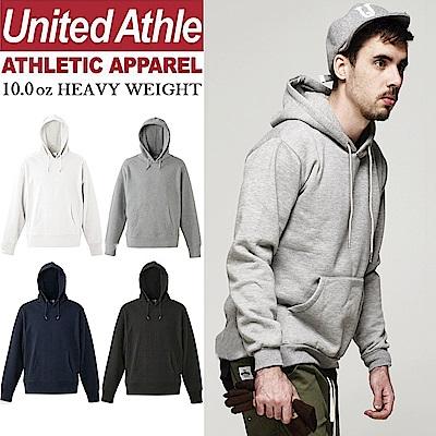 日本United Athle素面連帽T 10.0oz重磅磨毛 亞規UA 情侶