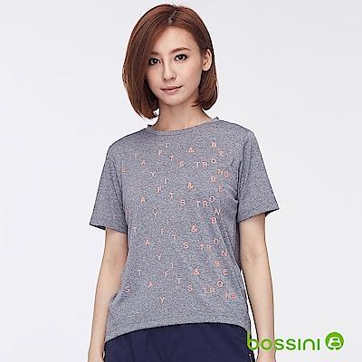 bossini女裝-ZtayDry快乾圓領短袖T恤01麻灰