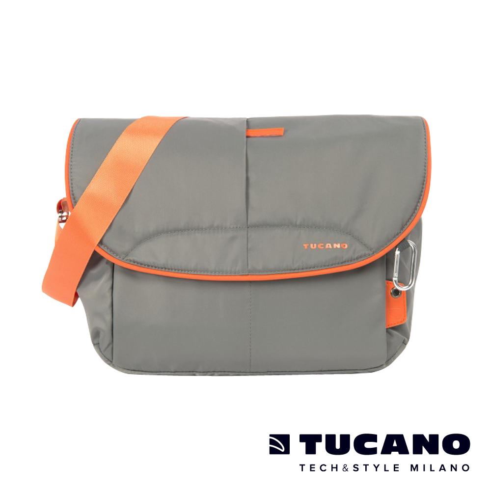 TUCANO Scatto 防雨防潑水休閒相機二用包(附防潑水收納袋) L-灰