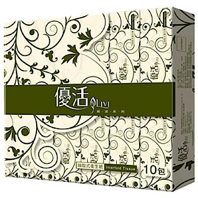[時時樂限定]Livi優活抽取式衛生紙100抽x10包x6袋-箱