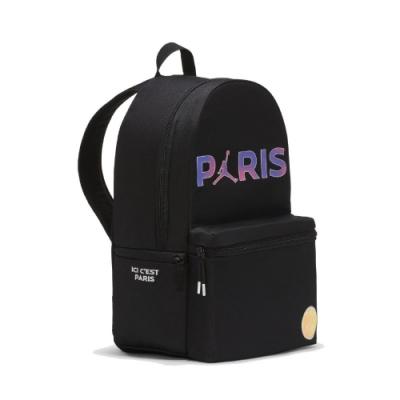 Nike 後背包 Saint-Germain Backpack 巴黎聖日耳曼 喬丹 飛人 雙肩背 黑 紫 JD2113001AD001