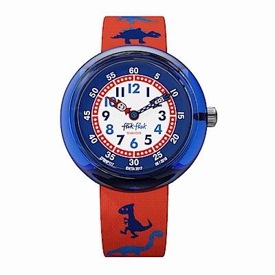 FlikFlak 兒童錶 DINOSAURITOS 侏儸紀公園手錶