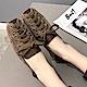 韓國KW美鞋館 好評加碼熱賣款綁帶平底鞋-棕色 product thumbnail 1