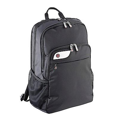 I-Stay創業家多功能減壓後背包(黑)15.6吋筆電 & 12吋平版夾層